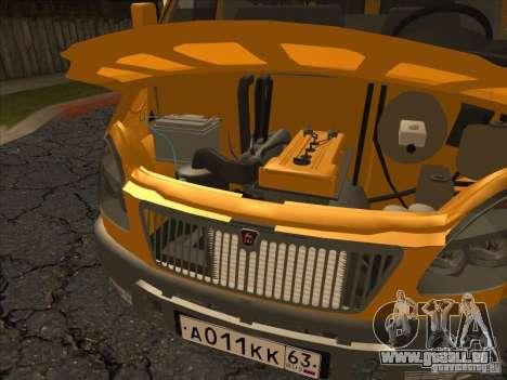 GAZ 22171 Sable pour GTA San Andreas vue arrière