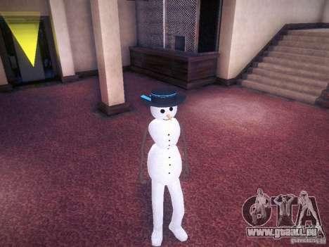 Bonhomme de neige pour GTA San Andreas