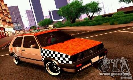 Volkswagen MK II GTI Rat Style Edition für GTA San Andreas linke Ansicht