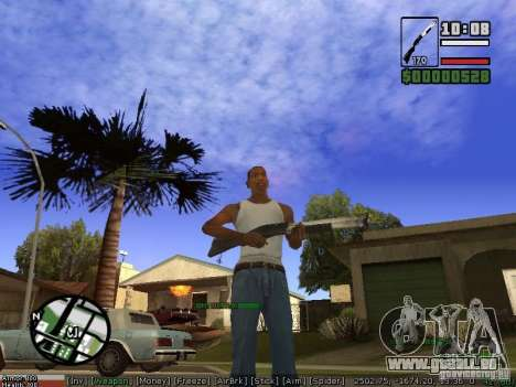 Armes de Pak pour GTA San Andreas