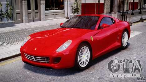Ferrari 599 GTB Fiorano für GTA 4 linke Ansicht