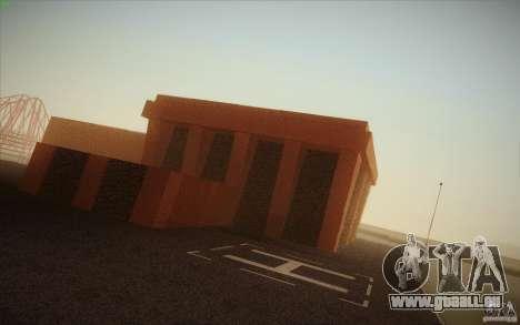 New SF Army Base v1.0 pour GTA San Andreas quatrième écran