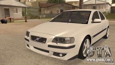 Volvo S60R für GTA San Andreas Innenansicht
