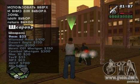 Gun Seller pour GTA San Andreas septième écran