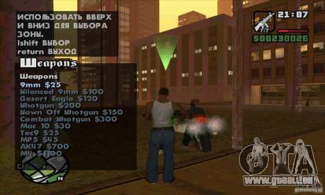 Gun Seller für GTA San Andreas siebten Screenshot