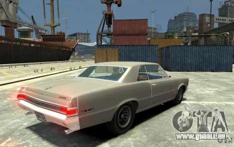 Pontiac GTO v1.1 für GTA 4 rechte Ansicht