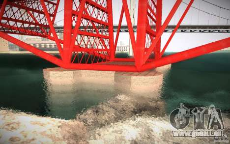 HD Red Bridge pour GTA San Andreas quatrième écran