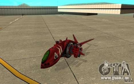 MOSKIT air Command and Conquer 3 pour GTA San Andreas laissé vue