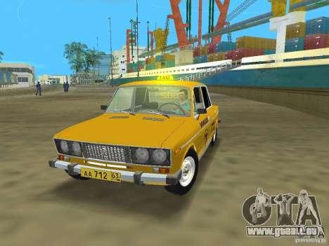 VAZ 2106 Taxi V 2.0 für GTA Vice City