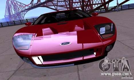 Ford GT 2005 für GTA San Andreas rechten Ansicht