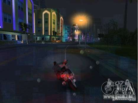 Ducati Supersport 1000 DS für GTA Vice City rechten Ansicht