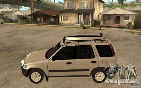 Honda CRV 1997 pour GTA San Andreas laissé vue