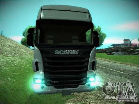 Scania R440 pour GTA San Andreas laissé vue