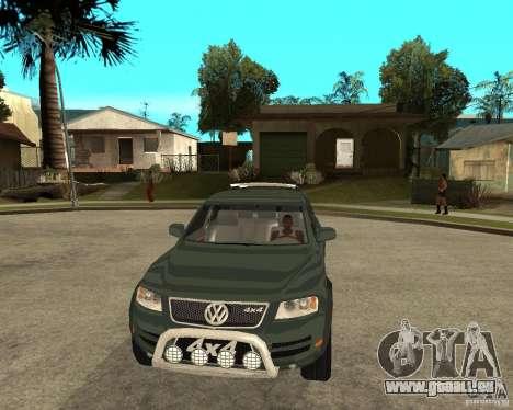 Volkswagen Touareg V10TDI 4x4 für GTA San Andreas Rückansicht