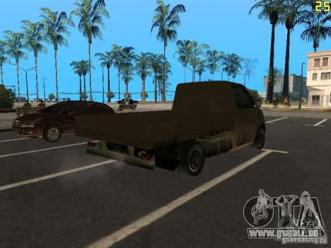Moonbeam Pickup pour GTA San Andreas sur la vue arrière gauche