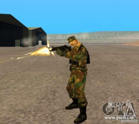 Fusil d'assaut G3A3 pour GTA San Andreas quatrième écran