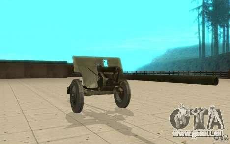 Kanone ZiS-2 für GTA San Andreas
