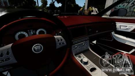 Jaguar XJ 2012 für GTA 4 Seitenansicht