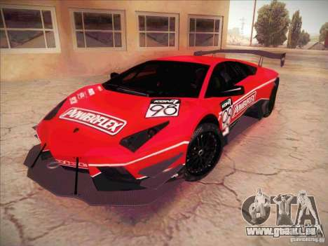 Lamborghini Reventon GT-R pour GTA San Andreas vue de côté