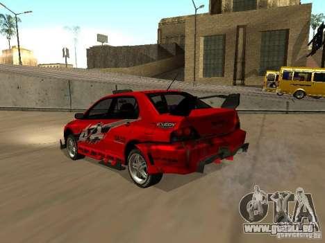 Vinyle pour GTA San Andreas quatrième écran