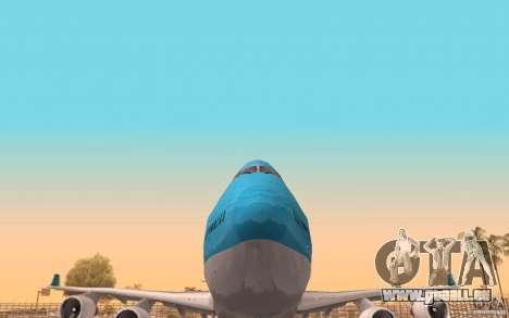 Boeing-747 Corsair Fly für GTA San Andreas Seitenansicht