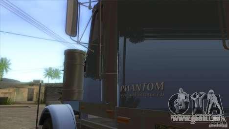 Phantom von GTA IV für GTA San Andreas Innenansicht