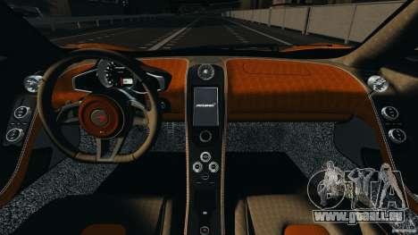 McLaren MP4-12C v1.0 [EPM] pour GTA 4 est une vue de l'intérieur