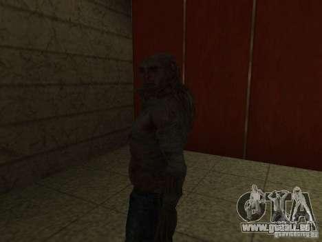 Contrôleur de S.T.A.L.K.E.R. pour GTA San Andreas quatrième écran