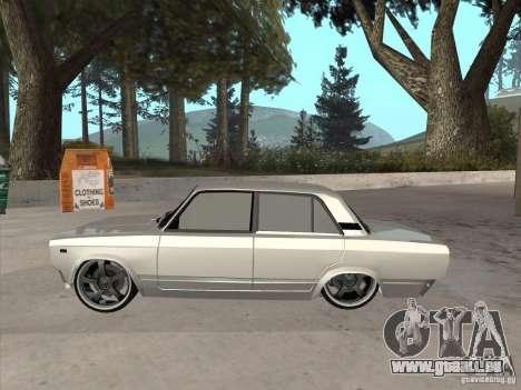 VAZ 2105 leichte Tuning für GTA San Andreas zurück linke Ansicht