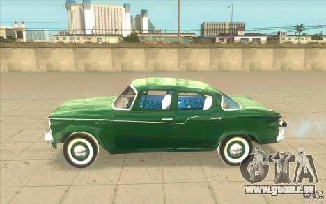 Studebaker Lark 1959 pour GTA San Andreas laissé vue