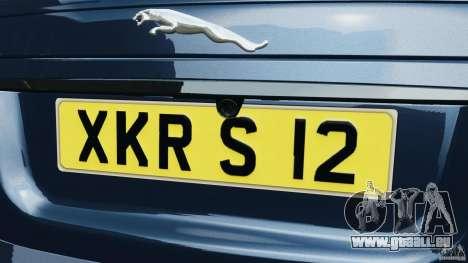 Jaguar XKR-S Trinity Edition 2012 v1.1 pour GTA 4 Salon