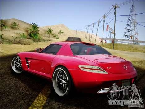 Mercedes-Benz SLS AMG pour GTA San Andreas laissé vue