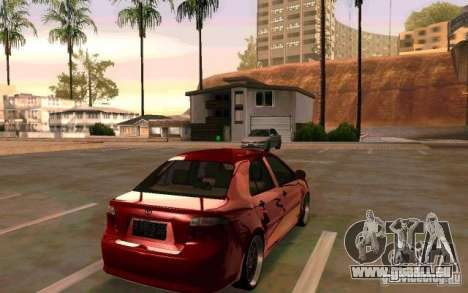 Toyota Vios für GTA San Andreas linke Ansicht