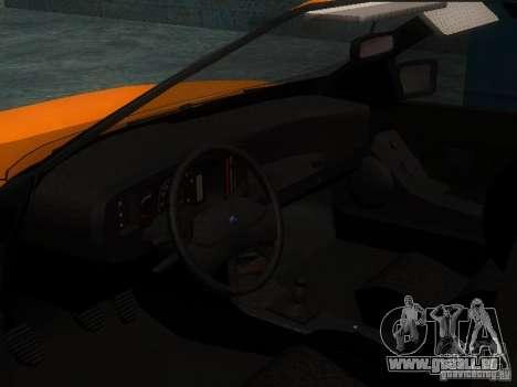 Ford Sierra Mk1 Sedan für GTA San Andreas Rückansicht