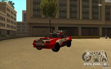 Opel Manta 400 pour GTA San Andreas vue de droite