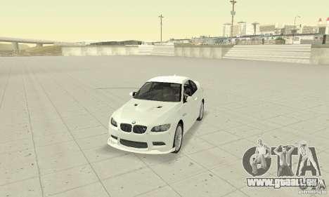BMW M3 2008 Convertible Hamann für GTA San Andreas