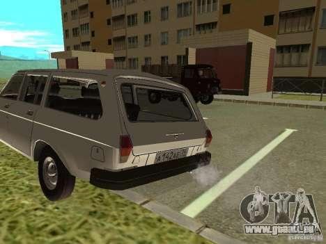 GAZ Volga 31022 pour GTA San Andreas laissé vue