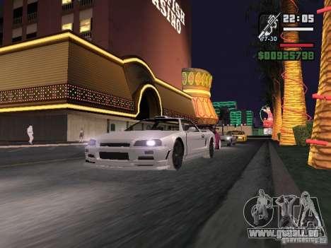 Infernus - beta - v.1 für GTA San Andreas