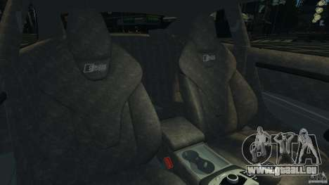 Audi S5 v1.0 pour GTA 4 est une vue de l'intérieur