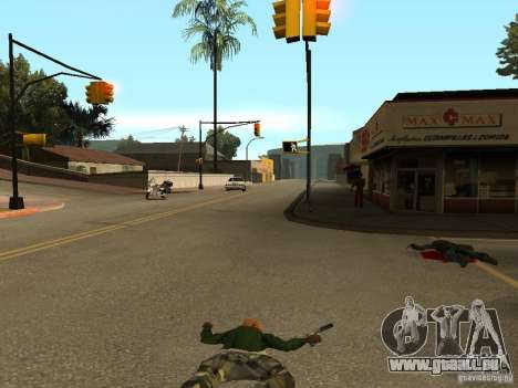 Act Dead pour GTA San Andreas