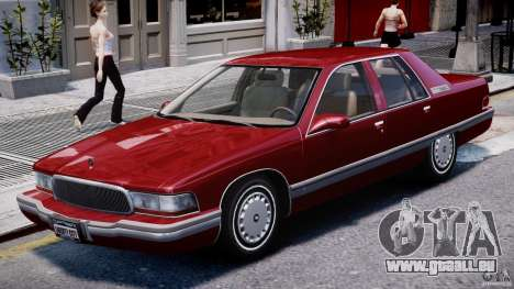 Buick Roadmaster Sedan 1996 v 2.0 für GTA 4 linke Ansicht