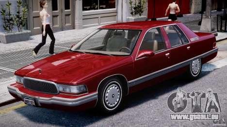 Buick Roadmaster Sedan 1996 v 2.0 pour GTA 4 est une gauche