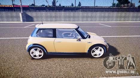 Mini Cooper S für GTA 4 Innenansicht