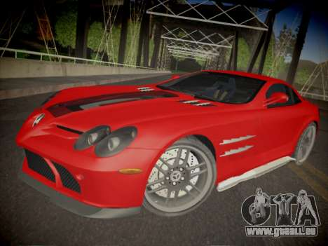Mercedes-Benz SLR 722 Custom Edition für GTA San Andreas