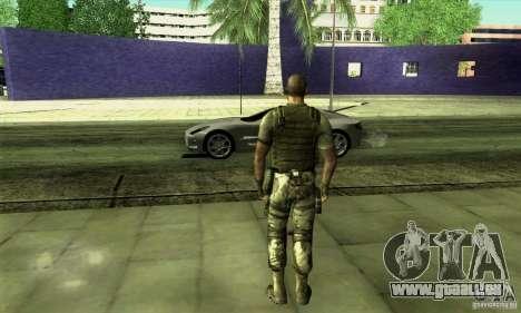 Sam Fisher Army SCDA pour GTA San Andreas deuxième écran