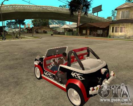 MiniCooper Tuning HOVADO 1 (MaxiPervers.cz) v.2 pour GTA San Andreas laissé vue