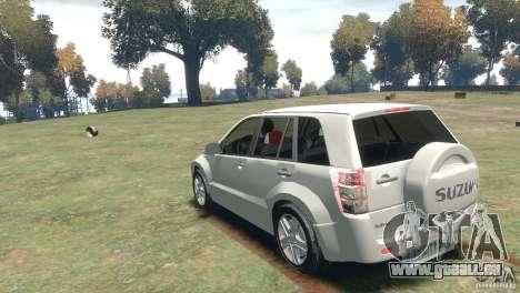 Suzuki Grand Vitara pour GTA 4 est un droit