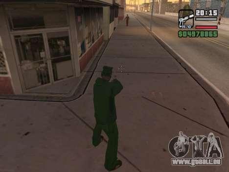 Ragdoll + Endorphin mod v1.0 pour GTA San Andreas quatrième écran