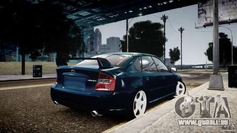 Subaru Legacy B4 GT pour GTA 4 est une gauche