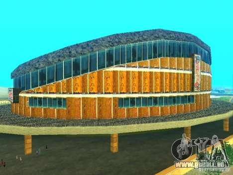 Le nouveau bâtiment du VG pour GTA San Andreas deuxième écran